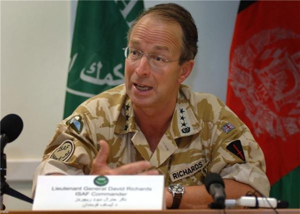 Richards: We must recognise the success we are having in Afghanistan