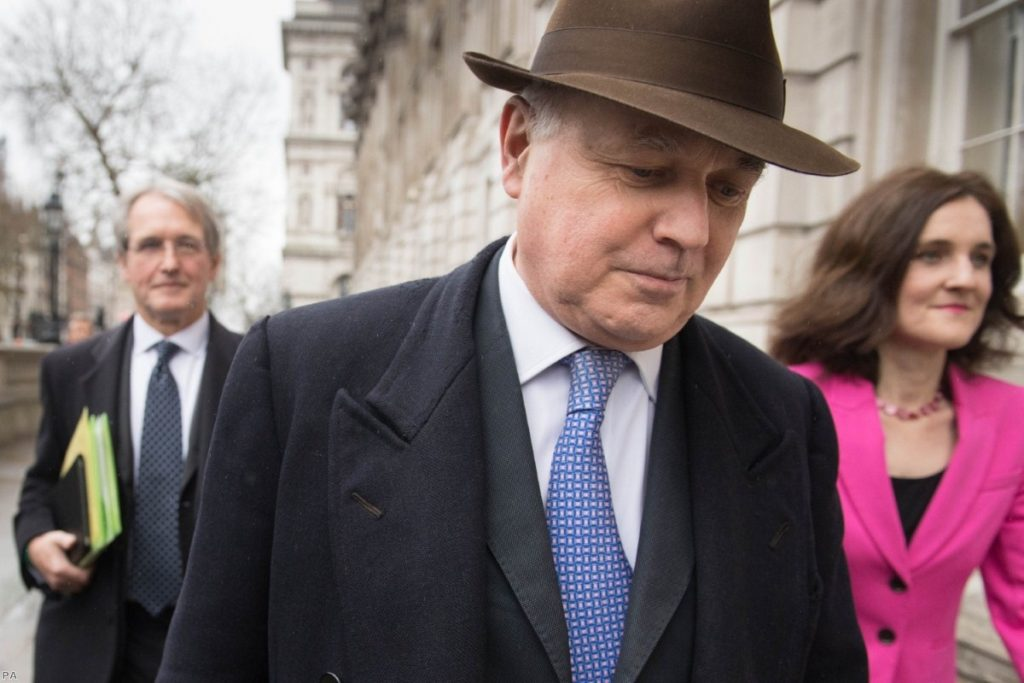Iain Duncan Smith: Claimed there was no need for further scrutiny in the deal and then found dangers in the 'small print'