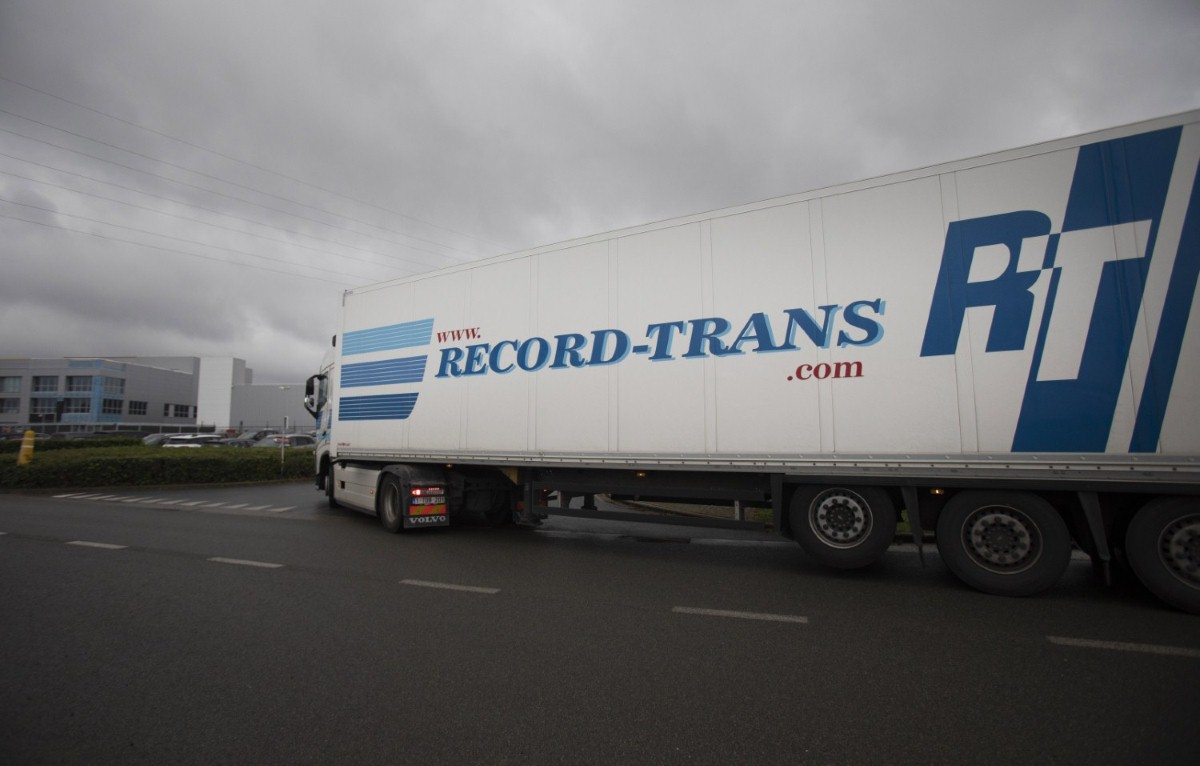 A truck enters the Pfizer Manufacturing plant in Puurs, Belgium  (photo: Press Association)